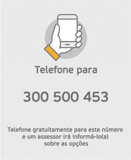 Telefone-nos!
